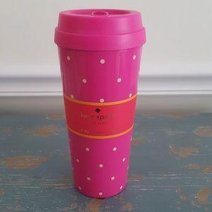 NWT Kate Spade Larabee Dot Thermal Mug